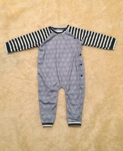 baby boy hmong clothes sleeper onesie